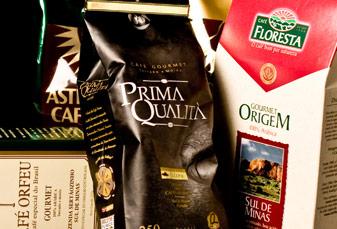 Chás e cafés gourmet